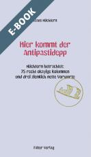 Hier kommt der Antipastidepp - E-Book