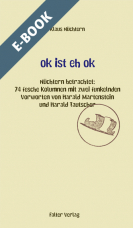ok ist eh ok - E-Book